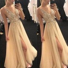 Сексуальные длинные платья для свадебной вечеринки, Платья для особых случаев, ТРАПЕЦИЕВИДНОЕ кружевное длинное простое платье без рукавов, vestido de festa Longo