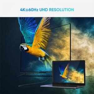 Image 4 - Ugreen USB C A HDMI Tipo di Cavo C HDMI Thunderbolt 3 Convertitore per MacBook iPad Pro 2018 USB C HDMI Adattatore USB Tipo C HDMI