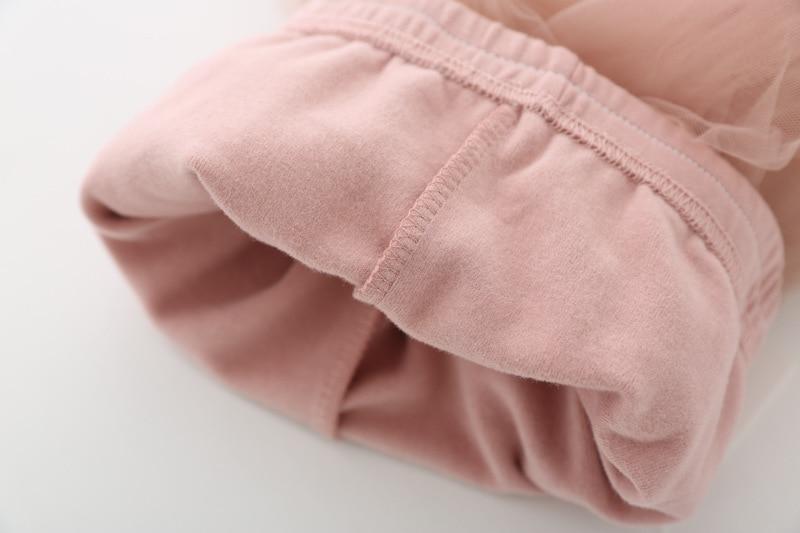 VIDMID Girls Leggings skirt clothing Skirt-Pants Kids Pants trousers Girl kids Leggings Trousers clothes lace pants 7065 02 5