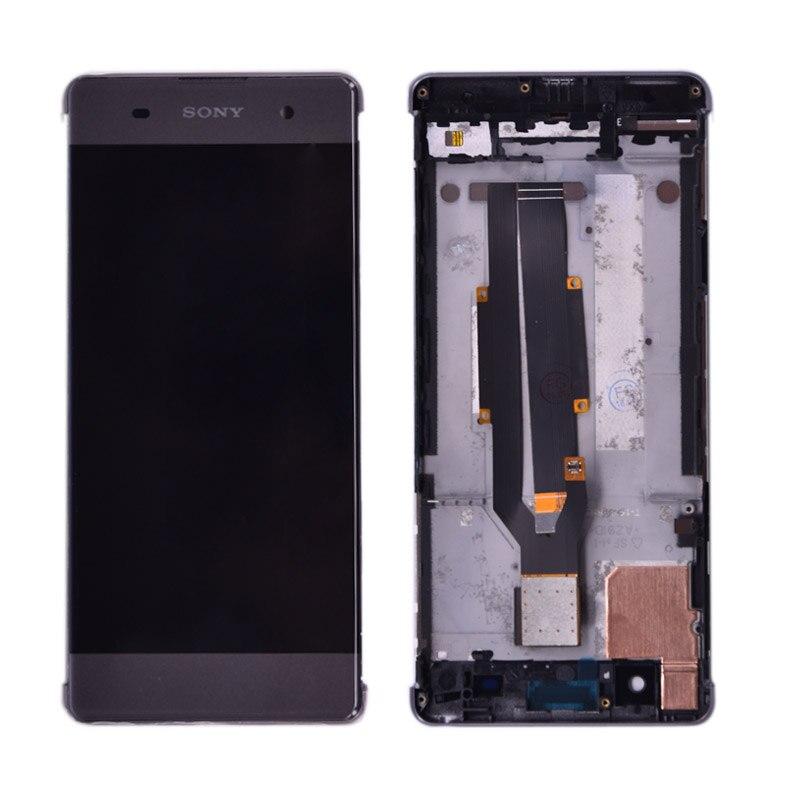 Оригинальный Для Sony Xperia XA F3111 F3113 F3115 ЖК дисплей с сенсорным экраном дигитайзер сборка PLEJA|Экраны для мобильных телефонов|   | АлиЭкспресс