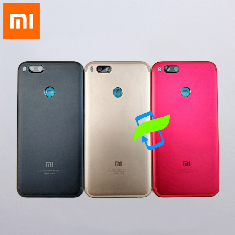 Original <font><b>Battery</b></font> Back Cover For <font><b>Xiaomi</b></font> Mi A1 5X <font><b>MiA1</b></font> Back Housing Rear Door Case For Mi 5X Power Volume Buttons+Camera Lens image