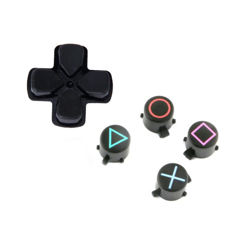 D-pad Move Action Dpad Key ABXY X Button Set Repair Part Replacement For Sony Playstation Dualshock 4 DS4 PS4 Controller Gamepad