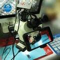 Suporte do telefone móvel universal microscópio telefone fotografar suporte de gravação de vídeo do telefone celular suporte de suporte de microscópio