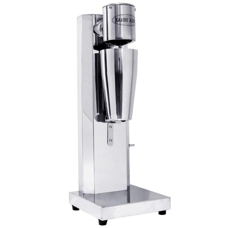Jamielin Household Milkshake Machine Stainless Steel Single Head Commercial Milk Tea Shop Electric Mixer Milk Bubble Machine