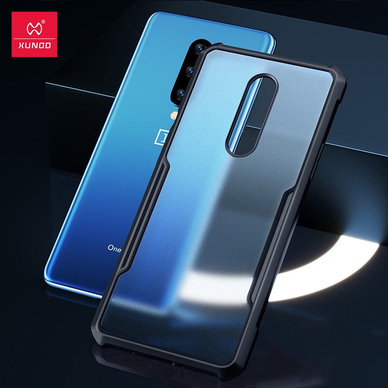 Xundd Protective Case For OnePlus 8 Shockproof Case Cover Soft Back Shell Airbag Bumper Clear For One Plus 7 7T 8 Pro Cover Fitted Cases    - AliExpress