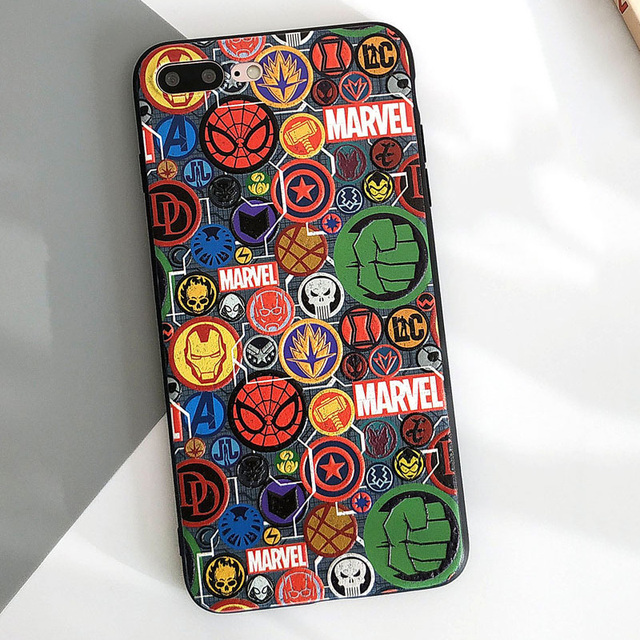 Spiderman and Marvel Phone Cases for IPhone (5 Designs) 4