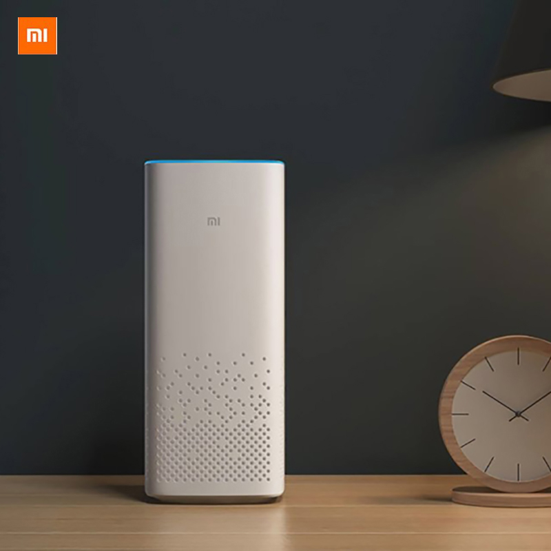 Xiaomi MI AI speaker wifi bluetooth Speaker voice remote control portable smart home music player xiaoai app For Android IOS image