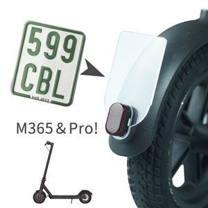 Electric Scooter Rear Safety W
