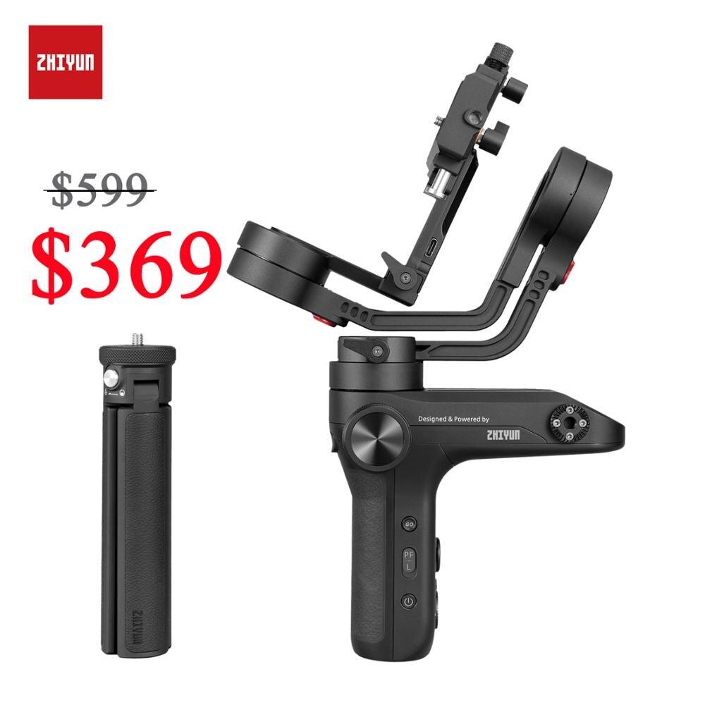ZHIYUN stabilisateur de Transmission d'image officiel WEEBILL LAB 3 axes pour Sony/Nikon capteur de caméra sans miroir contrôle cardan portatif