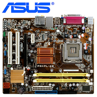 ASUS P5KPL AM Motherboard LGA 775 DDR2 4GB For Intel G31 P5KPL AM Desktop Mainboard Systemboard SATA II Used Integrated Graphics|Motherboards| |  -