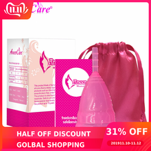 10Pcs Hot Sale Medical Grade Silicone Menstrual Cup For Wome