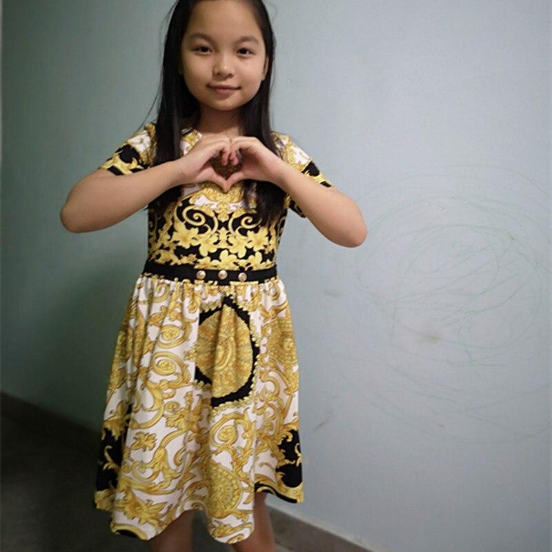 High end new summer girl dresses, fashion party children's dresses Dresses  - AliExpress