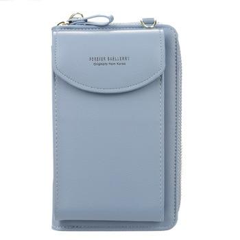 wallet women Diagonal PU multifunctional mobile phone clutch bag Ladies purse large capacity travel card holder passport cover 7