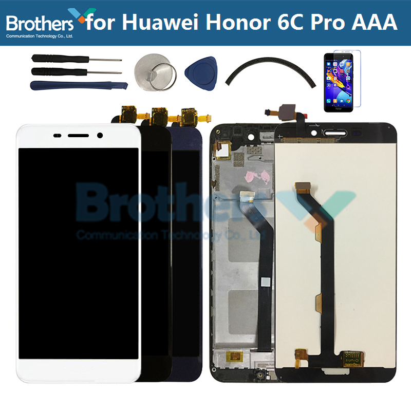 For Huawei Honor 6C Pro LCD Screen JMM-L22 AL10 AL00 Touch Screen Digitizer LCD Assembly With Frame For Honor 6CPro LCD Display