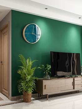 Northern Europe Restaurant Light Luxurious Wall Clock Household Modern Concise Clock Personality Arts Originality A Living Room