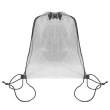 Transparent Kordelzug Storgae Bags Plastic Shopping Clothes Cosmetic Rucksack Home Wardrobe Sundries Draw Pocket Sportbeutel(China)