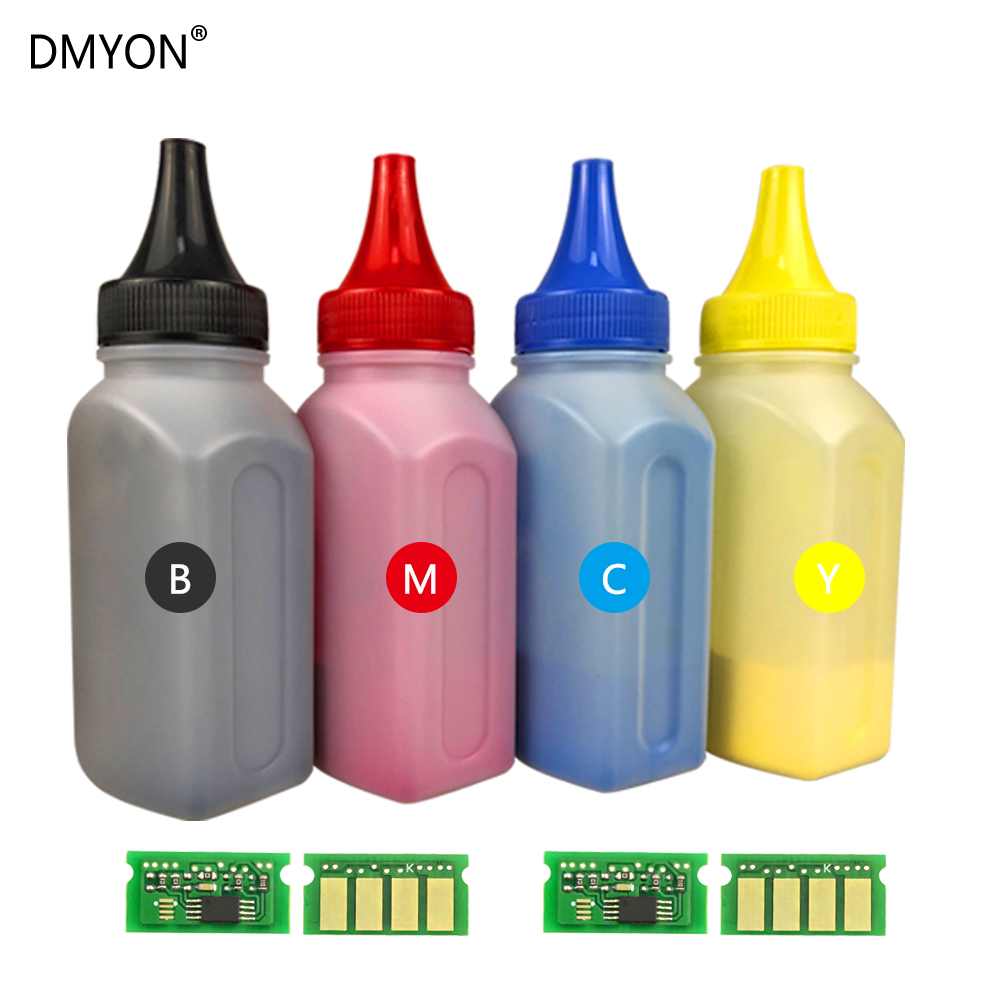 DMYON  4 Color Chip Toner Powder Compatible For Ricoh Aficio SP C252DN C252F C260DNw C262DNw C262SFW SPC252 SPC260 SPC262