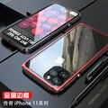 Бронированный металлический алюминиевый каркас чехол для iPhone 11 Pro Max чехол сверхмощный защитный чехол для iPhone 11 Pro чехол X XR XS Max Coque