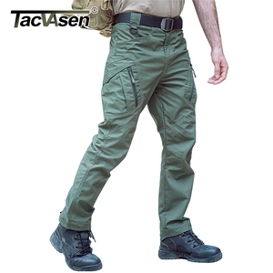 Image 5 - TACVASEN Tactical Pants Men Military Clothing Outdoor Work Cargo Pants Men Airsoft Army Combat Trousers Stretch Assault Pants