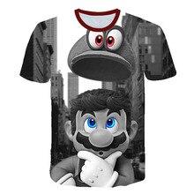 Girls T-Shirt Classic-Games Bros Super-Smash Child Streetwear Harajuku Boys Hip-Hop And