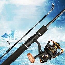 Wzmocnienie wędki 1.8M FRP Fiber Spinning regulowana wędka spinningowa Vara De Pesca Outdoor sprzęt wędkarski na
