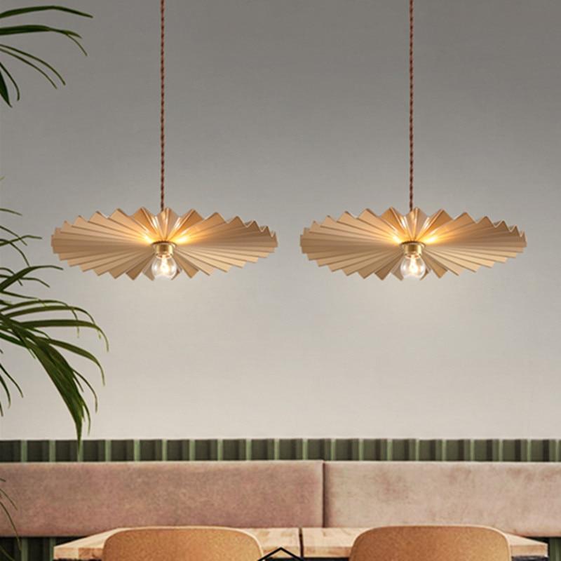 Nordic minimalista stile Americano retrò luce di stile di lusso di personalità creativa ristorante ristorante cafe bar retro lampadari - 2