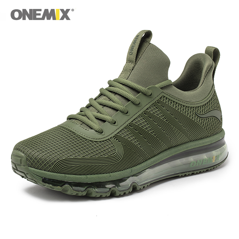 ONEMIX Classic Running Shoes For Men High Top Waterproof Air Cushion Sneakers Outdoor Jogging Winter Shoes Nice Run Shoes