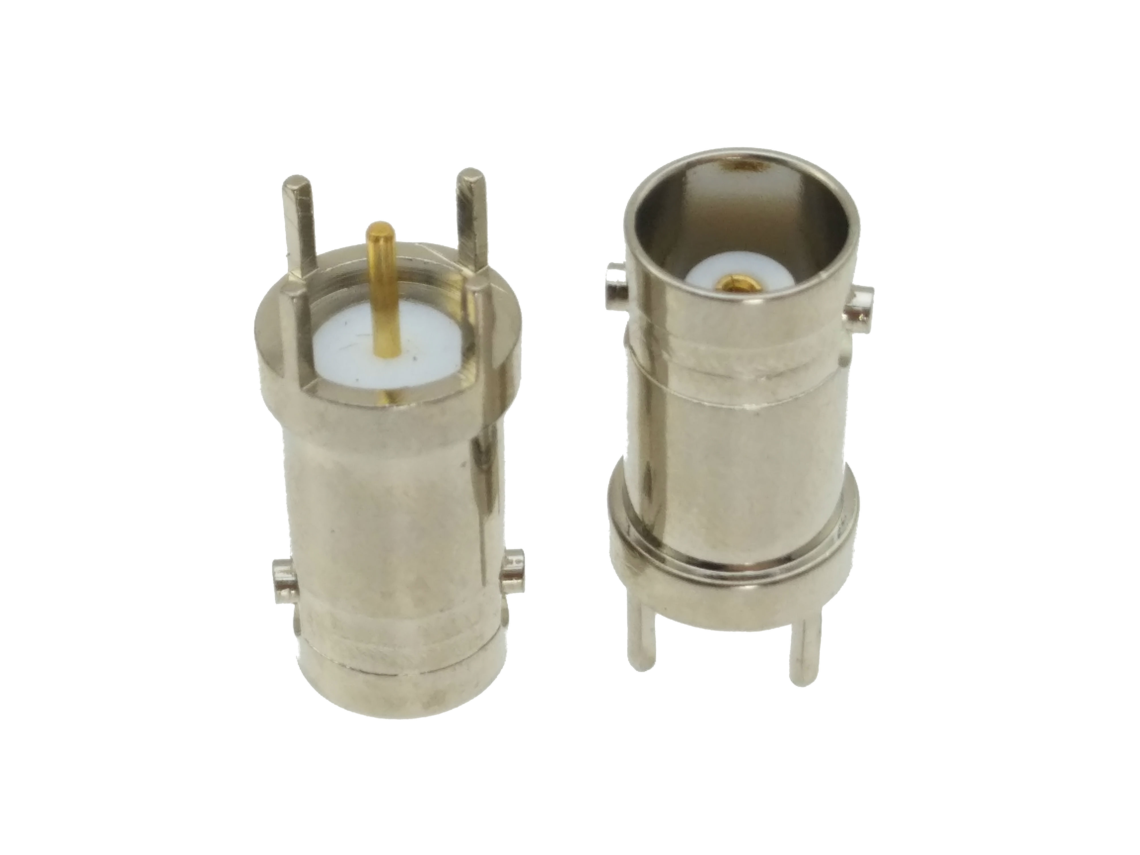 Connector BNC Female Jack Solder PCB Mount Straight RF COAXIAL