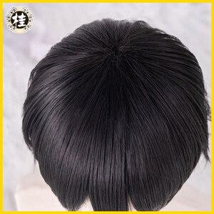 Image 4 - UWOWO tuvalet bağlı Hanako kun/Jibaku Shounen Hanako kun Cosplay peruk 25cm doğal siyah saç