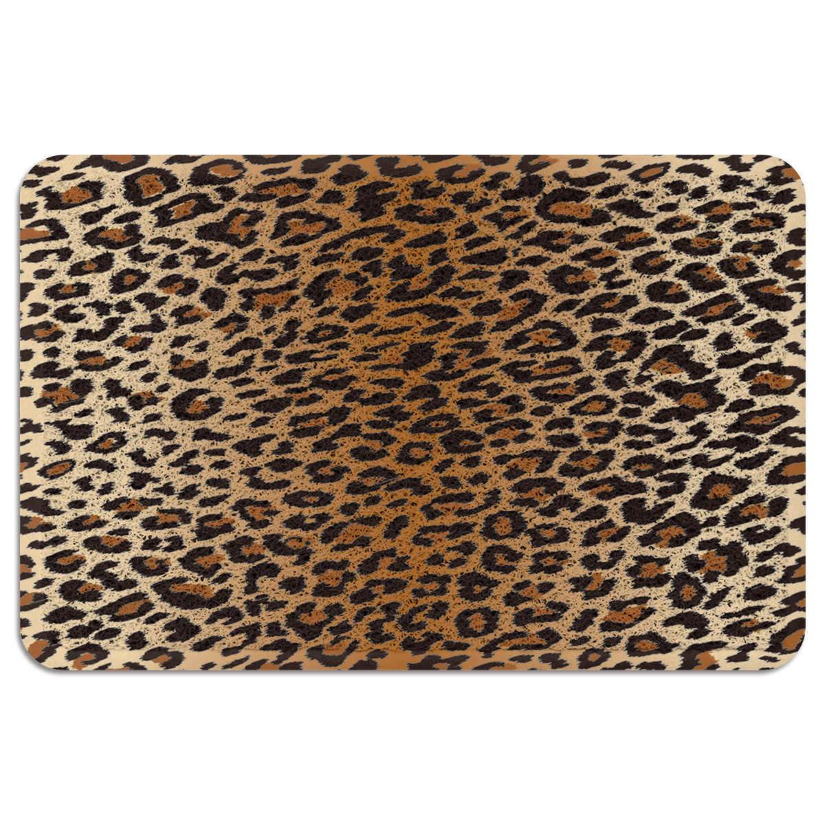 Leopard Outdoor Rugs For Patios Accent Rugs Door Mats Floor Mat Pvc Coil Area Rug Export Small Women Black Large Gray Men Man Mat Aliexpress