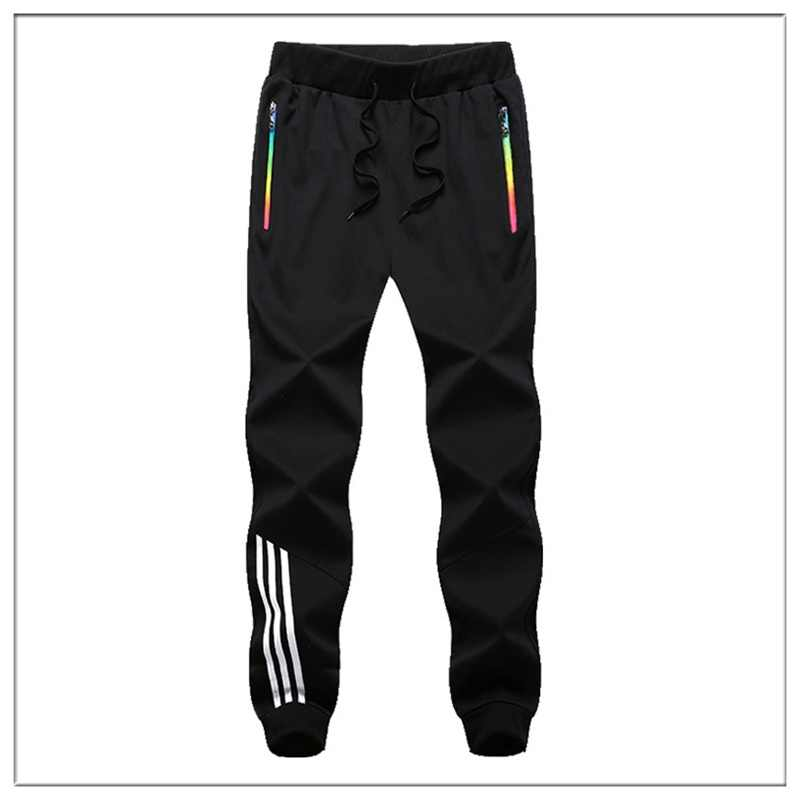 Pantalones a rayas para hombre, pantalones de chándal informales para hombre, ropa deportiva, pantalones largos, nuevos Pantalones rectos, ropa de Fitness para hombre