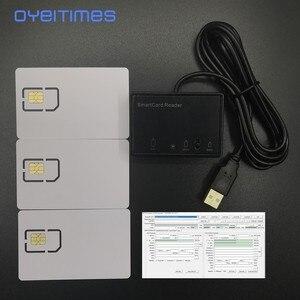 Image 2 - OYEITIMES 3 Có Thể Lập Trình 5G NR 3GPP R16 ISIM Thẻ 2FF/3FF/4FF Trống 5G ISIM + MCR3516 Đầu Đọc Thẻ + 4.2.1 Cá Nhân Hóa Dụng Cụ