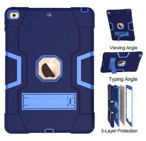 Image 1 - Ipad の 10.2 7th 世代 2019 ケース、頑丈な耐震ヘビーデューティハイブリッド 3 レイヤキッズチャイルドプルーフカバー