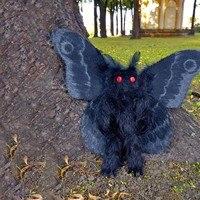 Peluches para crianças voando gótico mothman brinquedos de pelúcia macios travesseiro mole crianças stress presentes de aniversário atacado!