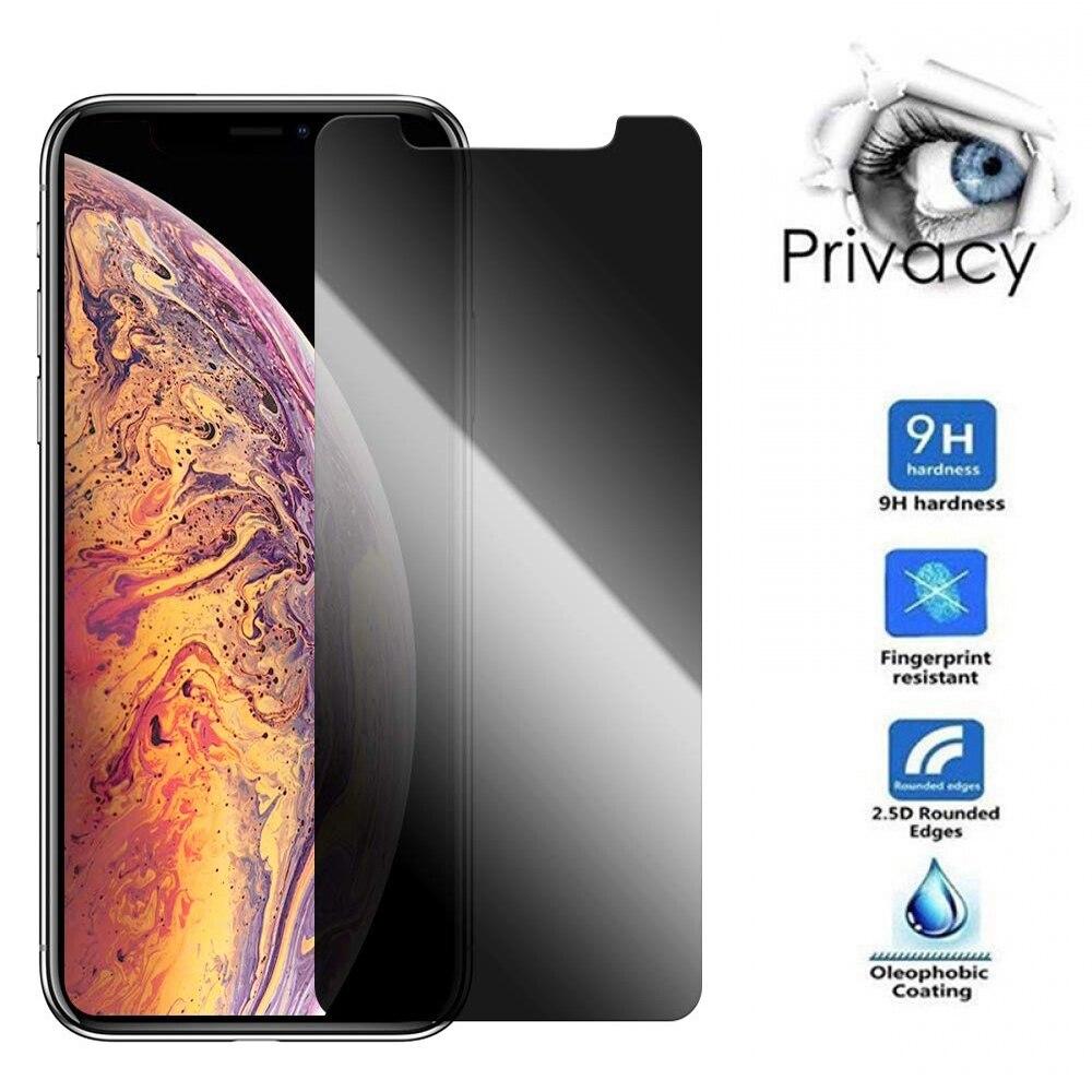 Pour IPhone11/iphone protecteur 2019 confidentialité 6.1 pouces Protection écran Anti-espion verre trempé film de Protection
