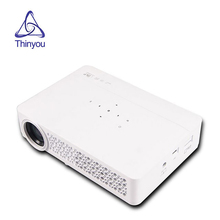 Portable Full HD 1080P DLP Projector With Android WIFI Bluetooth For Home Theater cinema Movie Beamer multimedia Proyector poner saund mini projector 4500 lumens smart new android lcd 3d wifi home theater proyector beamer dlp projektor 1080p hdmi usb