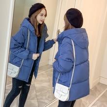 цены Bread Jacket Female Hot Sale 2019 Winter New Korean Loose Down Cotton Jacket Thick Coat Very Fairy Cotton Clothing Parka Women