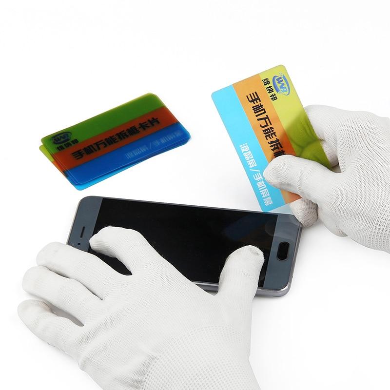 Plastic Card Pry Opening Scraper for iPhone iPad Samsung LCD Screen Display Disassemble Card Mobile Phone Repair Tool