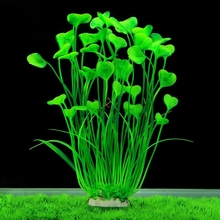Large Aquarium Plants Artificial Plastic High Simulation Water Grass Fish Tank Decoration Ornament Safe for All Fish