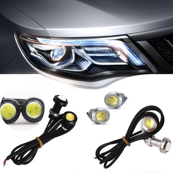 цена на Car styling Car LED Light Led  Eye DRL Daytime Running Lights Source  Reversing Parking Signal Lamps Waterproof