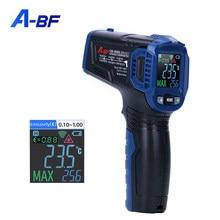 A-BF termômetro infravermelho industrial digital display temperatura arma de medição handheld sem contato termômetro de alta precisão
