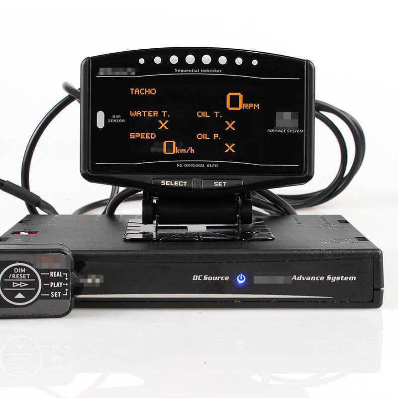 مجموعة كاملة حزمة الرياضة 10 في 1 BF CR C2 DeFI مقدما ZD وصلة متر عداد تلقائي رقمي مع أجهزة الاستشعار الإلكترونية