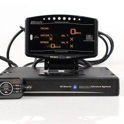 Full Kit Sport Paket 10 in 1 BF CR C2 DeFI Voraus ZD Link Meter Digitale Auto Gauge Mit Elektronische sensoren