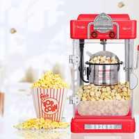 Macchina per i Popcorn per la Casa Automatico Mini Hot Air Popcorn Maker FAI DA TE di Mais Popper del Regalo Dei Bambini
