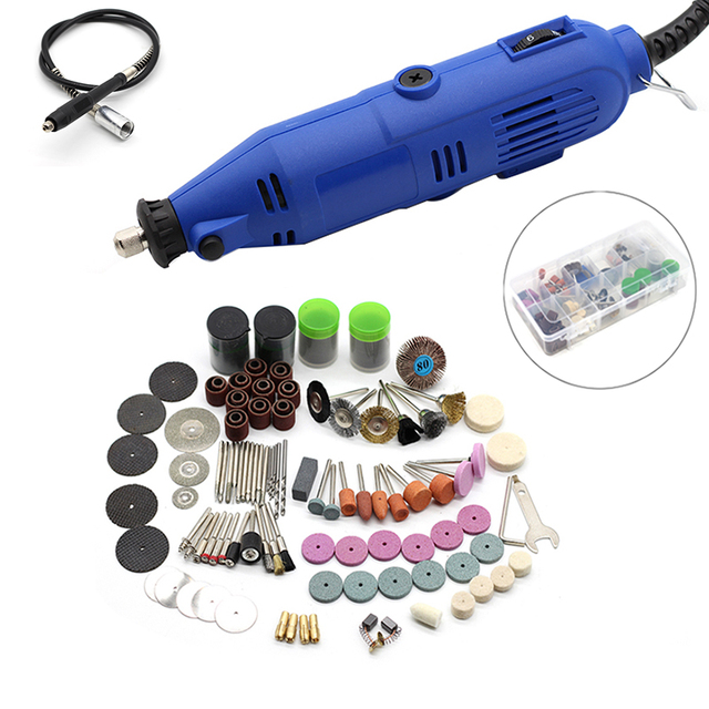 Power Tools Electric Engraving Mini Drill Polishing Machine Variable Speed Rotary Tool accessories For Dremel 3000 4000