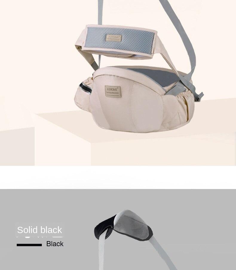 Portador de bebê mochila multifuncional portátil para