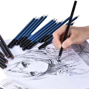 Image 4 - 40 pièces Kit de crayons de dessin de croquis professionnel marqueurs dart ensemble doutils de peinture pour dessin détudiant