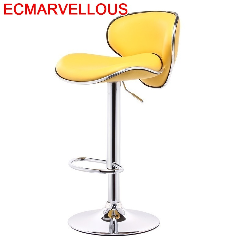 Fauteuil Taburete Table Kruk Stoelen Bancos Moderno Barkrukken Sedie Leather Cadeira Tabouret De Moderne Silla Bar Chair