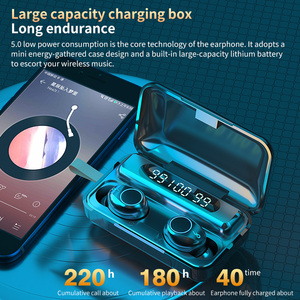 Image 4 - TWS Wireless Bluetooth 5.0 Earphone 9D HiFi Stereo Sport Waterproof Wireless Headphones Touch Mini Earbuds Headset with 2000mAh
