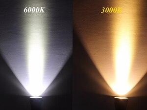 Image 4 - Linterna LED impermeable IPX8 XHP70.2 para buceo, buceo bajo el agua, antorchas de 100M, lámpara de luz, linterna de Camping con batería de 26650